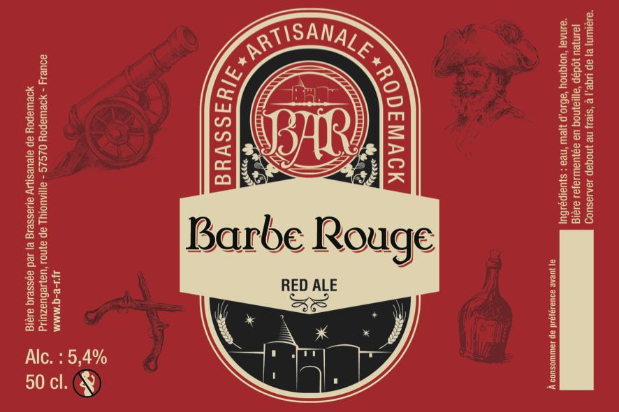 Exceptionnel La Barbe Rouge | Brasserie Artisanale de Rodemack ID78